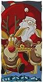 Wheatleya Navidad Papá Noel Alce Toallas de Mano Paños de algodón Paño Facial Paños de Lavado...