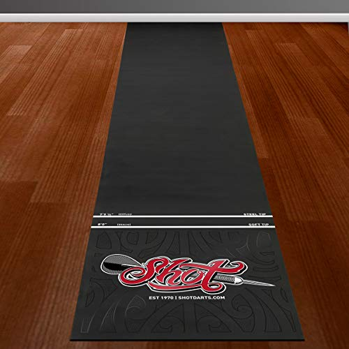 Shot Darts Professional Dart Mat-Dart Points and...