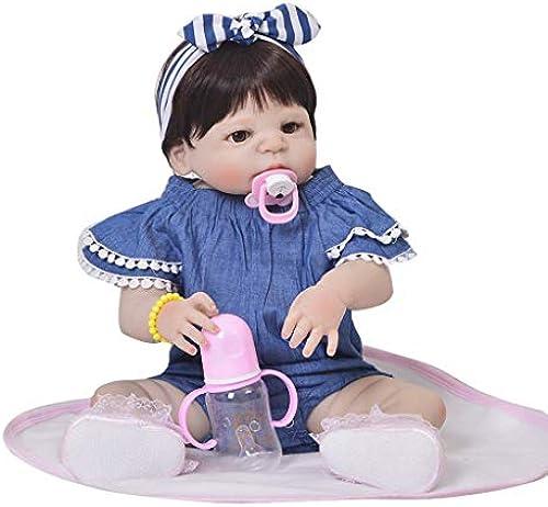 Reborn Baby Dolls 22 Realist Toddler Girls Realistic & Lifelike Tall Dreams Gift Set Ensemble Realistic Newborn craddlers Best Birthday Gift for Girls Age 3