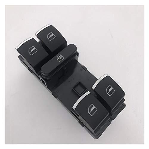LIUWEI Botón de Interruptor Principal de la Ventana eléctrica, Ajuste Adecuado para Volkswagen Magotan Sagitar Golf MK5 MK6 Passat B6 CC 5ND 959857