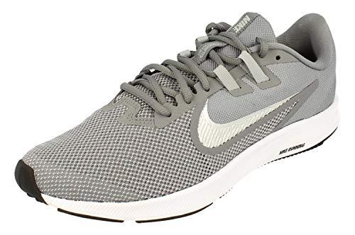 [ナイキ] Downshifter 9 Mens Running Trainers AQ7481 Sneakers Shoes (uk 7 us 8 eu 41, cool grey metallic silver 001)