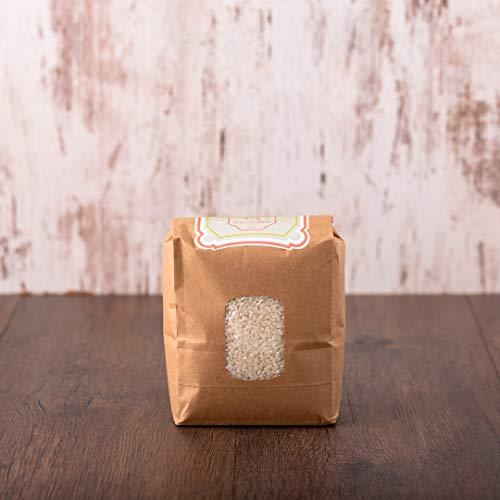 süssundclever.de® Bio Milchreis | Rundkornreis | weiß | aus Italien | 2 kg | unbehandelt | plastikfrei und ökologisch-nachhaltig abgepackt