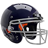 Schutt Sports Recruit Hybrid Youth Football Helmet (Facemask NOT Included), Navy Blue, Large