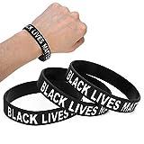 Bracelet en silicone élastique, bracelet en silicone élastique unisexe 3 pièces avec décoration de lettre spéciale pour hommes femmes bracelets en silicone pour décoration hommes et femmes