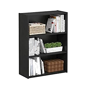 Furinno Pasir 3-Tier Open Shelf Bookcase
