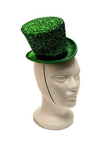 Arsimus Mardi Gras St. Patrick's Day Leprechaun Mini Party Hat (Green)