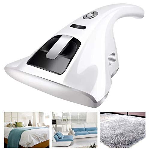 KYLINDRE UV aspiradora ácaros, 110V-240V con Cable Mano Limpiador Anti Bacterial Mata gérmenes y alérgenos, para alfombras de sofá Cama,White