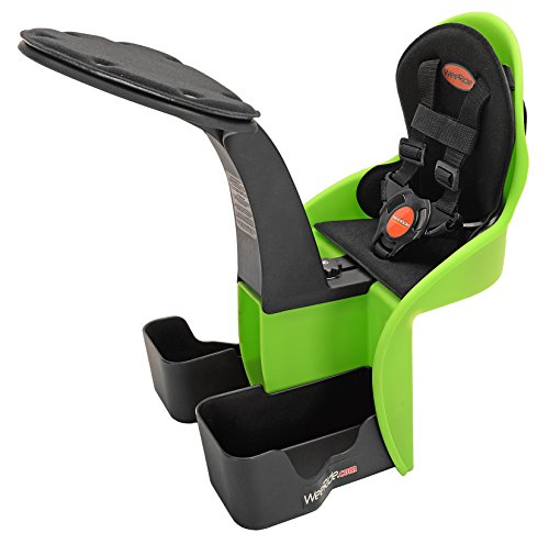 WeeRide Kangaroo Child Bike Seat, Green