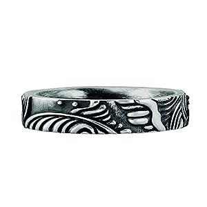 caï men Herren Ring 925 Sterling Silber vintage-oxidized