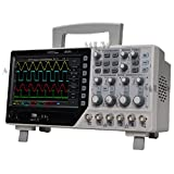 Osciloscopio de escritorio 250 MHz 4 canales, 500 μV/div1GS/s, sistema de activación muestra digital, 7 pulgadas, TFT1, generador de formas de onda arbitrario/por función de 1 canal