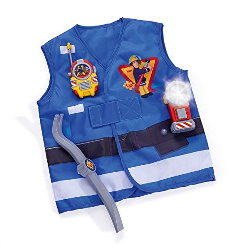 Simba- Feuerwehrmann Sam Feuerwehr Rettungsset Set di Soccorso dei Pompieri, Colore, 109252380