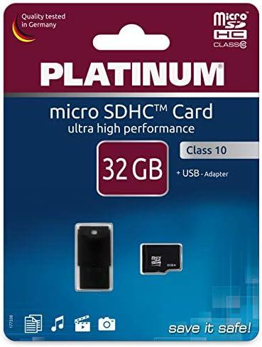 Platinum Class 10 Micro Sdhc 16gb Speicherkarte Inkl Computer Zubehör