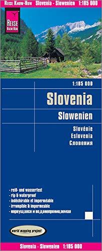 Reise Know-How Landkarte Slowenien (1:185.000): world mapping project
