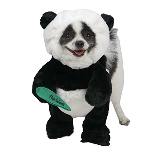 Pandaloon Panda Puppy Dog Pet Costume (Size 1 (13-14.5 in Total...
