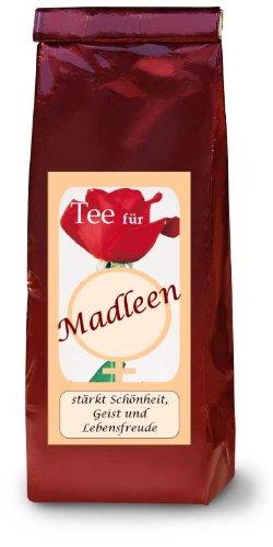 Madleen; Namenstee; Früchtetee