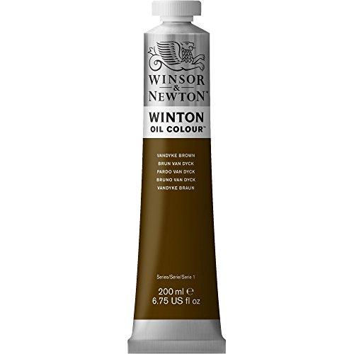 Winsor & Newton 1437676 Winton Oil Color Paint, 200-ml Tube, Vandyke Brown