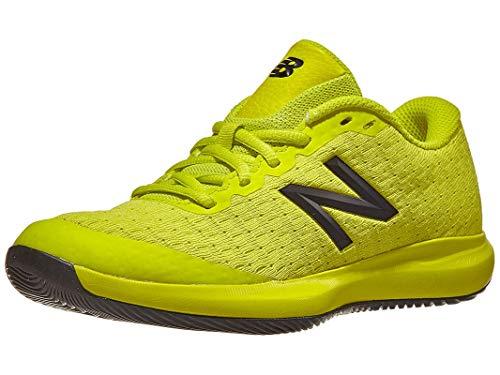 New Balance Kid's 996 V4 Tennis Shoe, Sulphur Yellow/Lemon Slush, 12 M US Little Kid