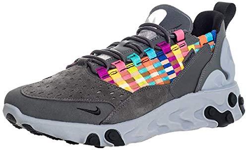Nike Herren React SERTU Laufschuh, Iron Grey Black Lt Smoke Grey, 42.5 EU