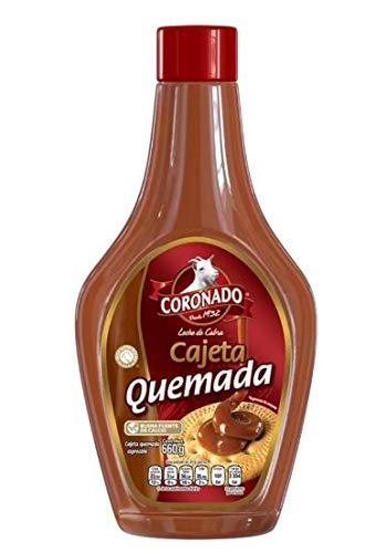 Goat Milk Caramel Topping - Cajeta Quemada Squeeze Bottle 660 Grams