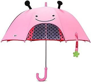 Skip Hop Zoobrella Little Kid Umbrella, Livie Ladybug