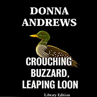 Crouching Buzzard, Leaping Loon audiobook cover art