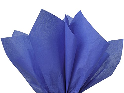 Sapphire Blue Tissue Paper 15x20 100 Sheets Premium Quality Gift Wrap High Quality Gift Wrap Tissue Paper Made in USA