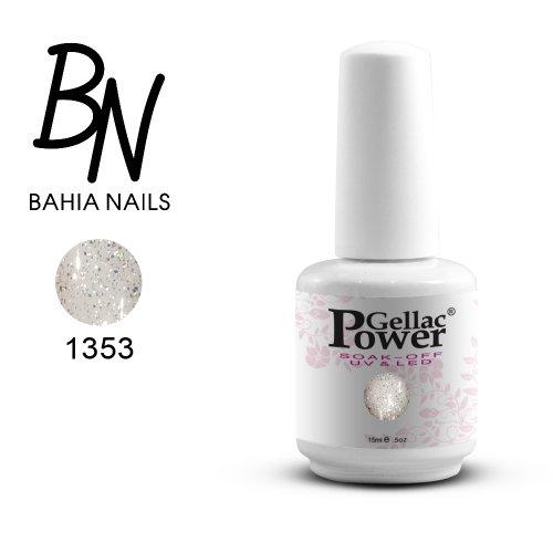 Bahia Nails - Power Gellac Tenue Parfaite? Vernis à Ongles UV Ou LED Semi Permanent 15 ml. 1353