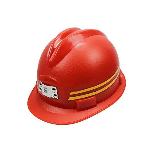 YZJJ Arbeitshelm Einstellbarer Schutzhelm - Bauhelm mit 4-Punkt Gurtband, Bauarbeiterhelm mit verstellbarem Helm, Bauhelm Hard hat