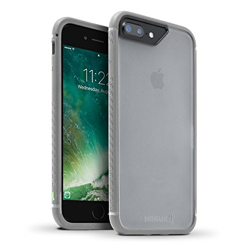 BODYGUARDZ Contacto Caso para Apple iPhone 8Plus/7Plus/6Plus–Gris/Verde