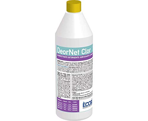 Ecosì LES01180001 Detergente Deornet Sgrassante Cloroattivo, 1 Litro