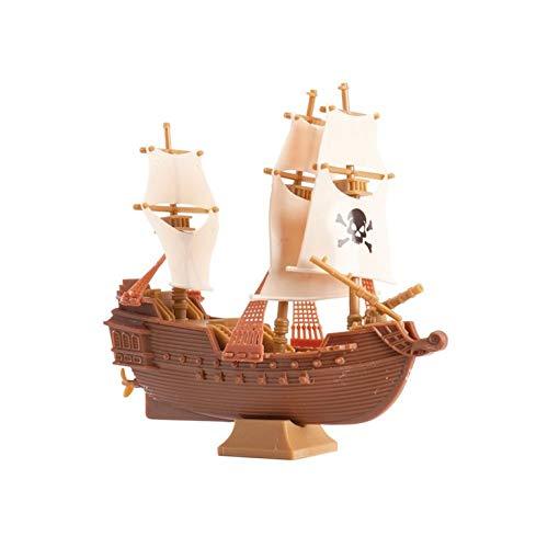 Partycolare - Cake Topper - Barca Pirati in plastica 11x11 cm