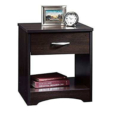 Sauder Beginnings Night Stand, Cinnamon Cherry