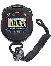 Winomo Digitaal professioneel handheld LCD-stopwatch sport chronograaf timer