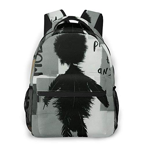 Lawenp Depeche Mode Playing The Angel Men and Women's Fashion Casual Backpack Outdoor Travel Bag Messenger Bags Casual Durable Lightweight
