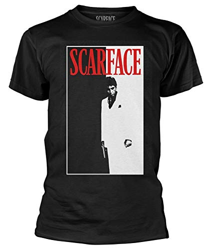 Scarface 'Movie Poster' T-Shirt Black XL
