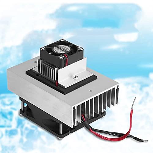 TWY DC12V Semiconductor Refrigerador/Sistema de refrigeración por refrigeración Kit de Bricolaje Mini Aire Acondicionado