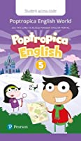 Poptropica English American Edition 5 Student PEP Access Card