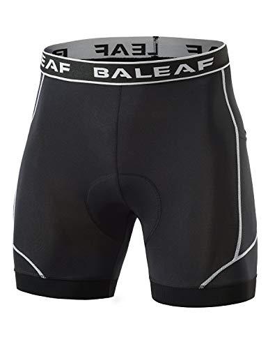 BALEAF Men's Bike Shorts Cycling Underwear 4D Padded Bicycle...
