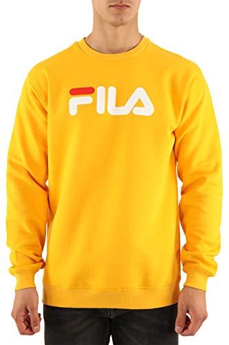 Fila Sweatshirt Crewneck Classic Gr. S, gelb