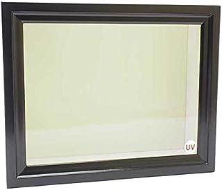 【UVカット】《特小型》ドイツ型標本箱(黒)Ver.2021