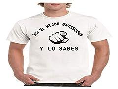 Parent Mejor Entrenador y lo Sabes - para Hombre Camiseta