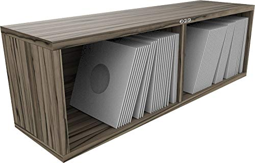 Zomo VS-Box 7/200 - Módulo para discos de vinilo (madera de zebrano)