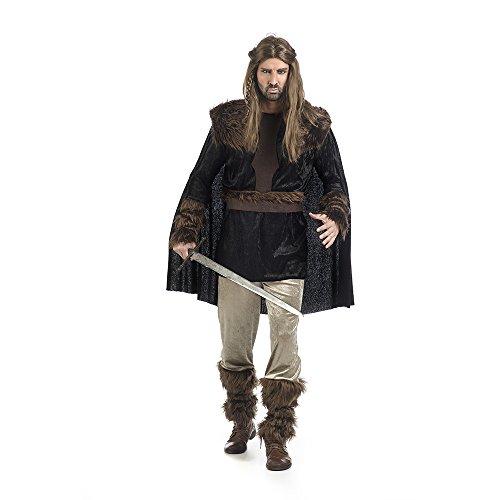Limit Sport Disfraz Vikingo Niels Color negro XL MA426