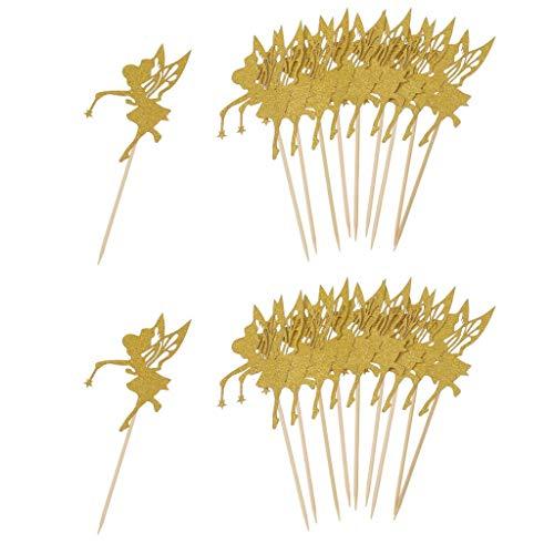 Myriad Choices - Decoración para Tartas (20 Unidades), diseño de Hadas