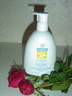 Yves Rocher Hamamelis Liquid Hand Soap with gentle witch hazel ph neutral, 300ml (FRANCE).