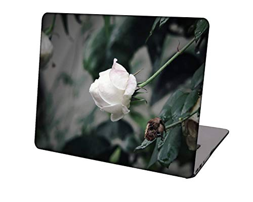 Laptop Case for MacBook Air 13 inch Model A1369/A466,Neo-wows Plastic Ultra Slim Light Hard Shell Cover Compatible MacBook Air 13 Inch No Touch ID,Rose 0801