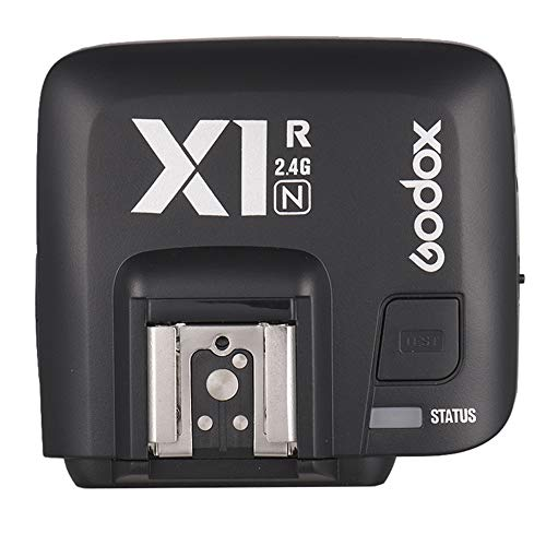 Godox X1R-N TTL 2.4G ワイヤレス フラッシュ トリガーレシーバ ニコンデジタル一眼レフカメラ用 X1Nトリガー用