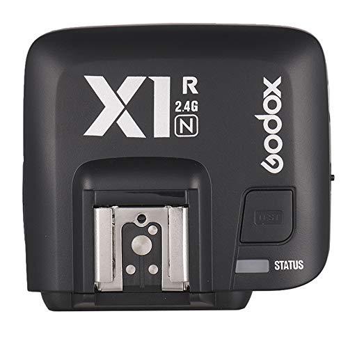 Godox X1R-N TTL 2.4G ワイヤレス フラッシュ トリガーレシーバ Nikon デジタル一眼レフカメラ用 X1Nトリガ...