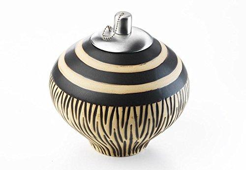 Petroleumlampe aus Keramik