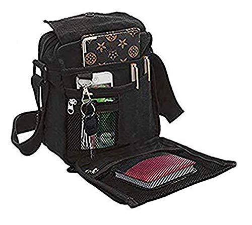 Liying Umhängetasche Rucksack Tasche Retro Canvas Handtasche Praktisch Aktentaschen Schultasche
